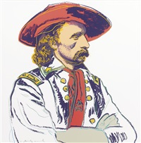 general custer (from cowboys and indians) by andy warhol