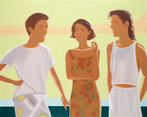 bridge by alex katz