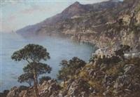 blick auf die küste von amalfi by edoardo cortese