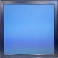 compositie in blauw by jef verheyen