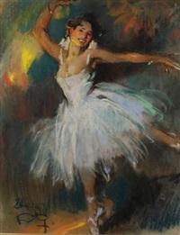 ballerine by louis fortuney