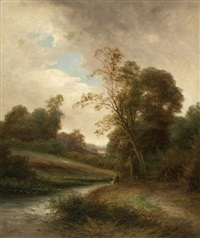 river near chelmsford by r. percy