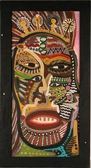 large ancestral face by lonnie sandmann' holley
