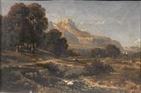 paesaggio by paul camille guigou
