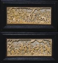 la temperanza di scipione (+ muzio scevola; pair) by antonio leoni