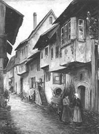 strafse in elsass by richard lipps