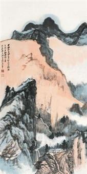 云岭秋意 by zhang daqian