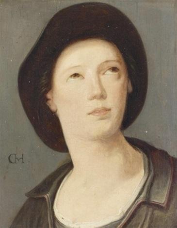 porträt eines jungen herrn by cornelis cornelisz van haarlem