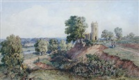 witlingham church, norfolk by john joseph cotman