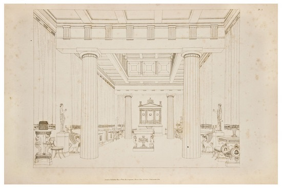 Household Furniture And Interior Decoration (set Of 60) By Thomas Hope