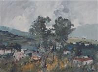 paesaggio by romolo leone