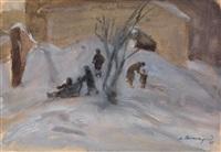 snow sledges by meier akselrod