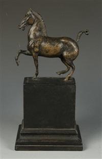 prancing horse by tiziano aspetti