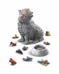 portrait of the artist as a clever old dog (11 works) by robert arneson