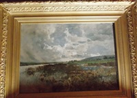 paysage de normandie by edmond charles joseph yon