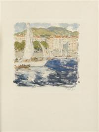 banville, thédore de; la mer de nice (2 works) by georges gobo