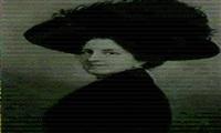 portrait einer dame mit federhut by adolf wutschl