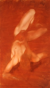 reclining figure by robert r. bliss