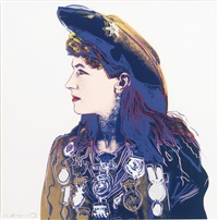 annie oakley (from cowboys and indians) by andy warhol