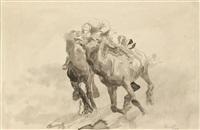 zwei kamelreiter by max slevogt