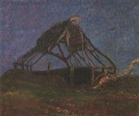 scheletro di capanna by benvenuto benvenuti