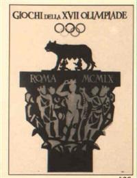 giochi della xvii olimpiade/roma 1960 by armando testa