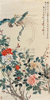 flowers and birds by jiang zaixi