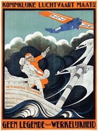 klm de vliegende hollander by anthonius mathieu guthschmidt