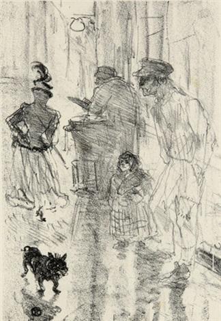 le marchand de marrons by henri de toulouse lautrec