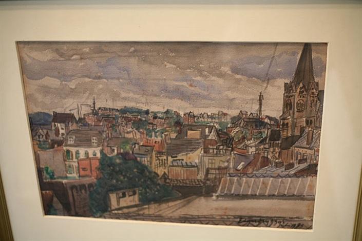 vue de ville by edgard tytgat