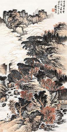 百丈飞泉云外落 by xiao xun