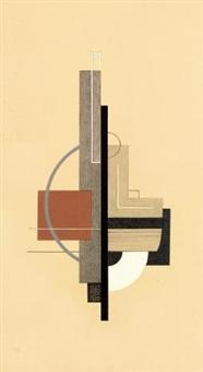 konstruktivistische komposition by félix del marle