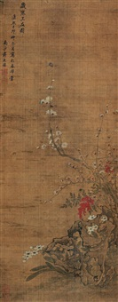 pine, bamboo and plum by jiang yanxi
