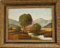 landscape in late summer by walter griffin