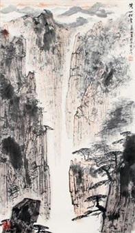 黄山松云图 by ya ming