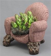 armchair asparagus by victor cicansky