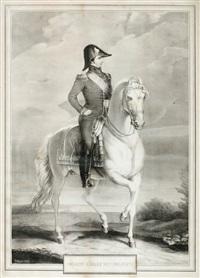 karl xiv johan till häst by georg leonhard dreyer