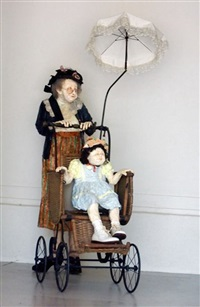nanny and stroller by kay ritter