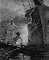 sneaking aboard by otto fischer