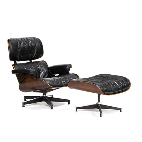 Surprising Vintage Lounge Chair And Ottoman By Charles Eames On Artnet Beatyapartments Chair Design Images Beatyapartmentscom