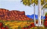 les monts mac donell de l'ouest - western mac donnel rangers by mervyn rubuntja
