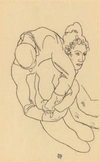 embrace egon schiele 1915
