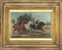 out for a run by harden sidney melville