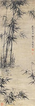 墨竹 (ink bamboo) by qian zai