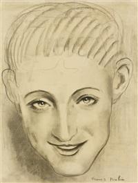 portrait d'homme by francis picabia