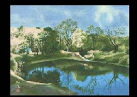 pond by tomokatsu yamamoto