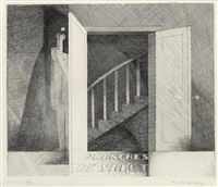 frontispiece for planches de salut by louis marcoussis