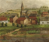 a view of gulpen by otto van rees