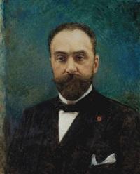 portrait de charles ephrussi by léon joseph florentin bonnat