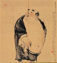 弥勒佛 by dai dunbang